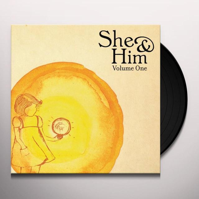 She & Him VOLUME ONE Vinyl Record