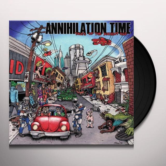 Annihilation Time TALES OF THE ANCIENT AGE Vinyl Record