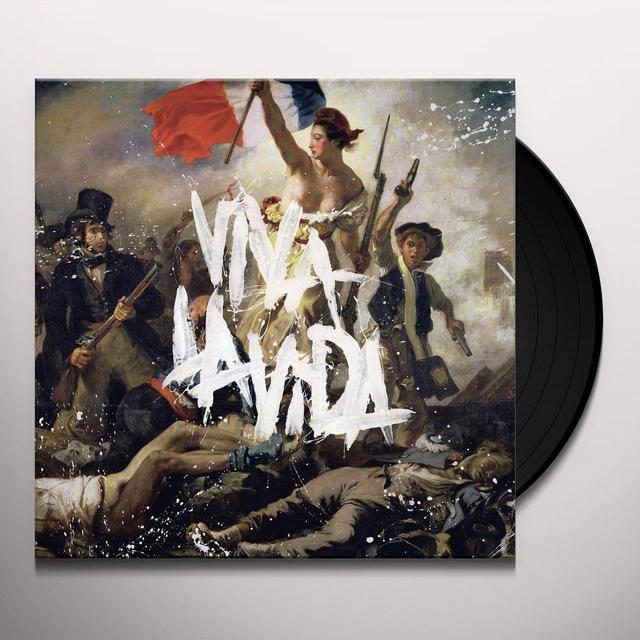 Coldplay VIVA LA VIDA OR DEATH & ALL HIS FRIENDS Vinyl Record
