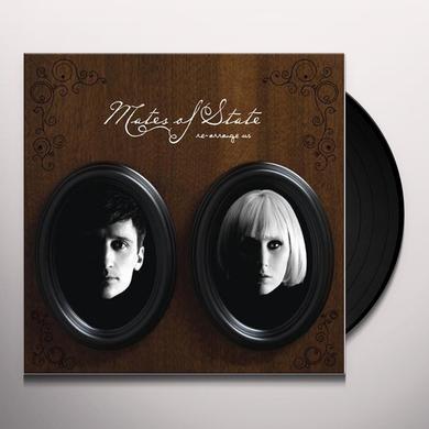 Mates Of State RE-ARRANGE US Vinyl Record