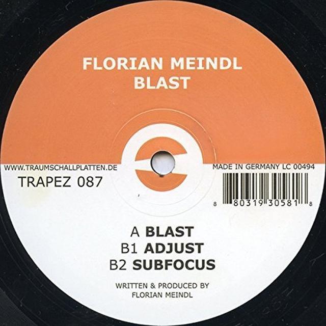 Florian Meindl BLAST Vinyl Record