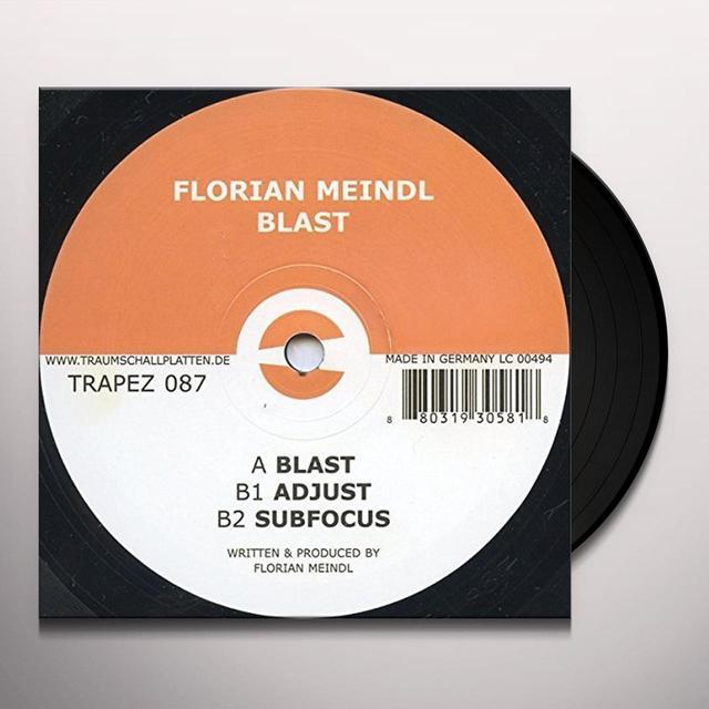 Florian Meindl BLAST (EP) Vinyl Record