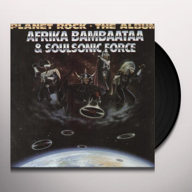 Afrika Bambaataa PLANET ROCK: ALBUM Vinyl Record - 180 Gram Pressing