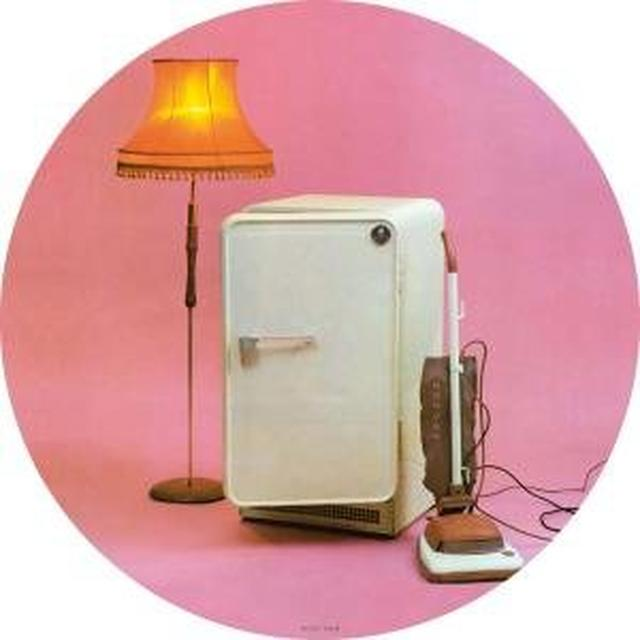 Cure THREE IMAGINARY BOYS Vinyl Record - Picture Disc