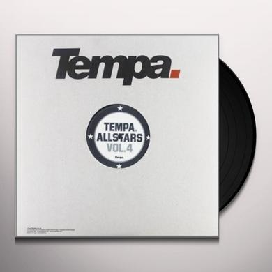 TEMPA ALLSTARS 4 / VARIOUS (EP) Vinyl Record