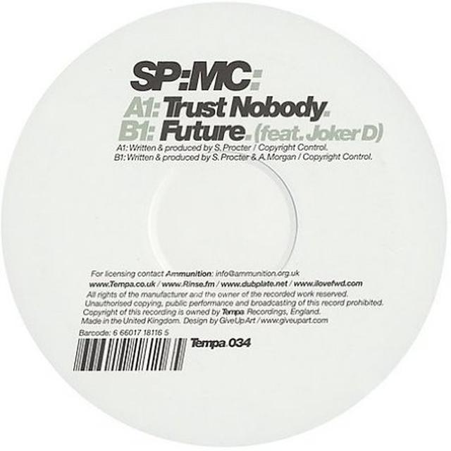 Sp:Mc TRUST NOBODY / FUTURE Vinyl Record