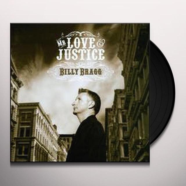 Billy Bragg MR LOVE & JUSTICE Vinyl Record