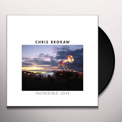 Chris Brokaw INCREDIBLE LOVE (Vinyl)