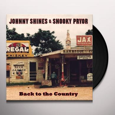 Snooky Pryor / Johnny Shines BACK TO THE COUNTRY Vinyl Record