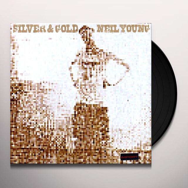 Neil Young SILVER & GOLD (GER) Vinyl Record
