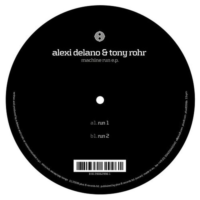 Alexi Delando & Tony Rohr MACHINE RUN (EP) Vinyl Record