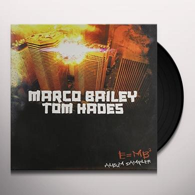 Marco Bailey & Tom Hades E=MB2 Vinyl Record