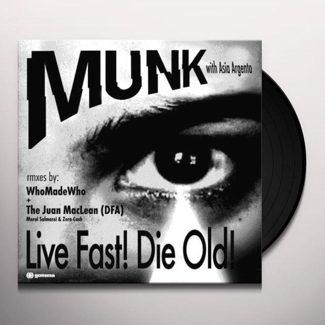Muck / Asia Argento LIVE FAST DIE OLD Vinyl Record