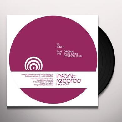 Tg TEST IT (EP) Vinyl Record