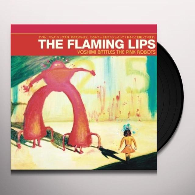 The Flaming Lips YOSHIMI BATTLES THE PINK ROBOTS (RED VINYL) Vinyl Record