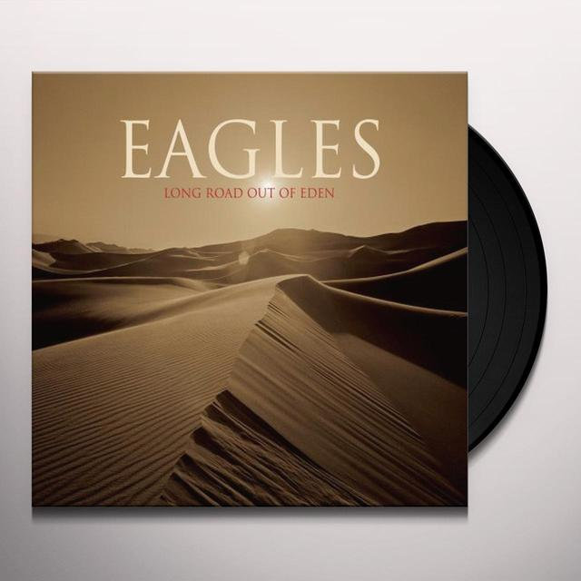 The Eagles and Glenn Frey LONG ROAD OUT OF EDEN Vinyl Record - Limited Edition