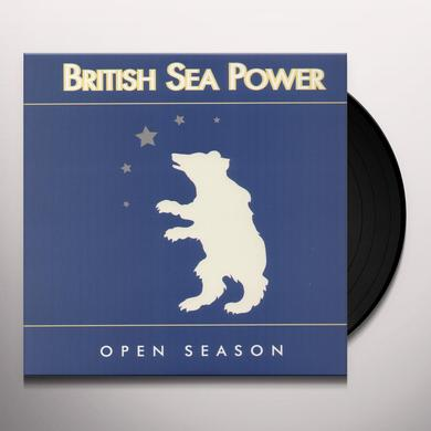 British Sea Power OPEN SEASON Vinyl Record