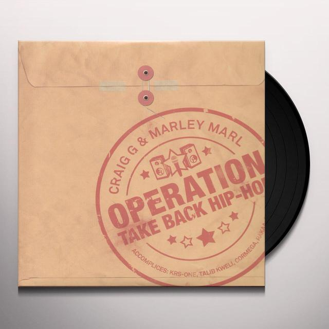 Marley Craig G / Marl OPERATION TAKE HIP HOP BACK Vinyl Record