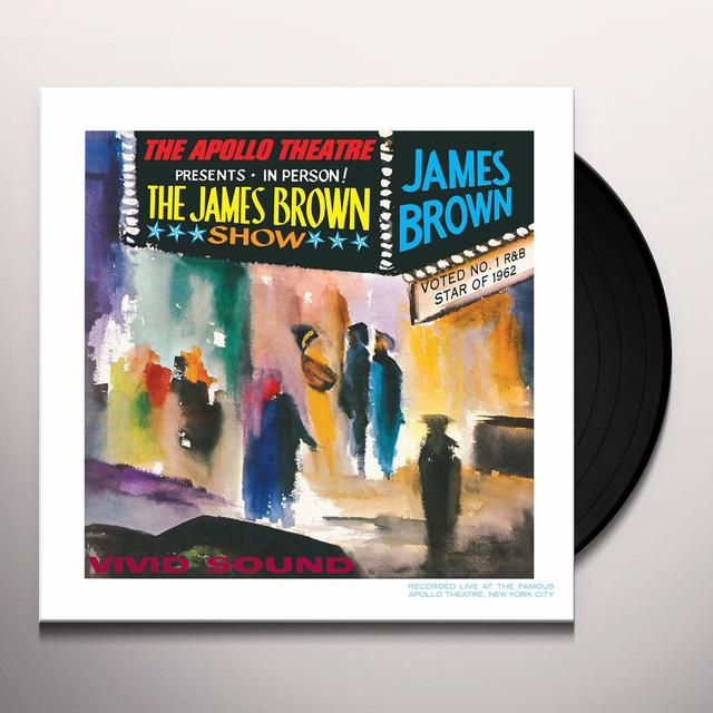 James Brown LIVE AT THE APOLLO Vinyl Record - Reissue