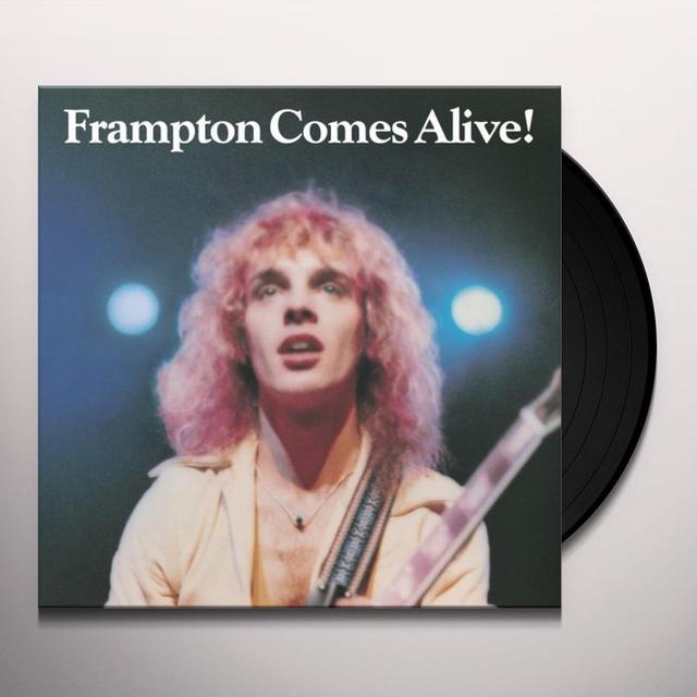 PETER FRAMPTON COMES ALIVE Vinyl Record