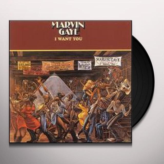 Marvin Gaye I WANT YOU Vinyl Record
