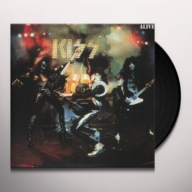 Kiss ALIVE Vinyl Record - 180 Gram Pressing