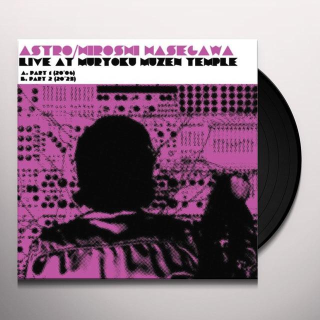 Hiroshi Astro / Hasegawa LIVE AT MURYOKU MUZEN TEMPLE Vinyl Record - Limited Edition, Special Packaging