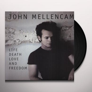 John Mellencamp LIFE DEATH LOVE & FREEDOM Vinyl Record