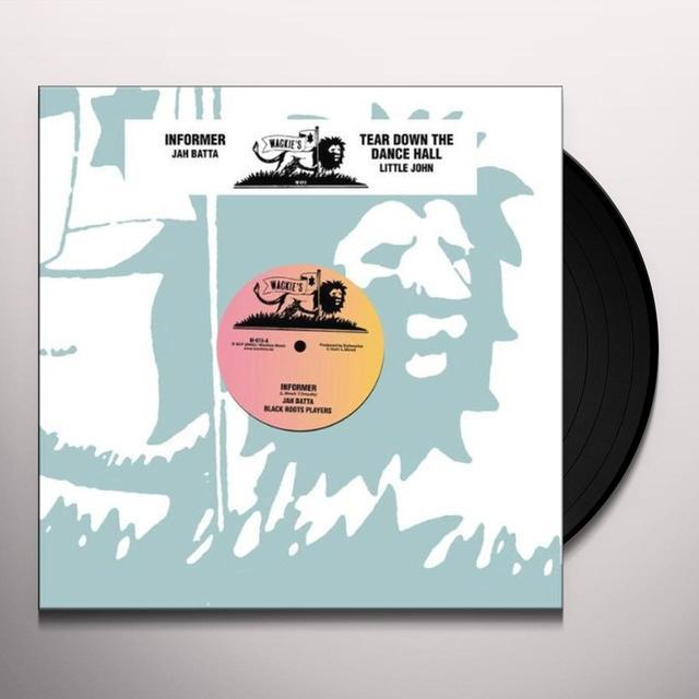 Jah Batta INFORMER Vinyl Record