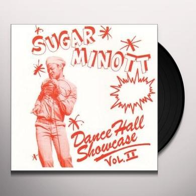 Sugar Minott DANCE HALL SHOWCASE II (10 INCH) (BONUS TRACKS) Vinyl Record