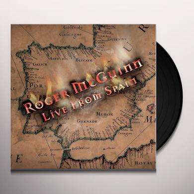 Roger Mcguinn LIVE FROM SPAIN Vinyl Record