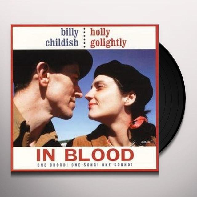 Billy Childish & Holly Golightly IN BLOOD Vinyl Record