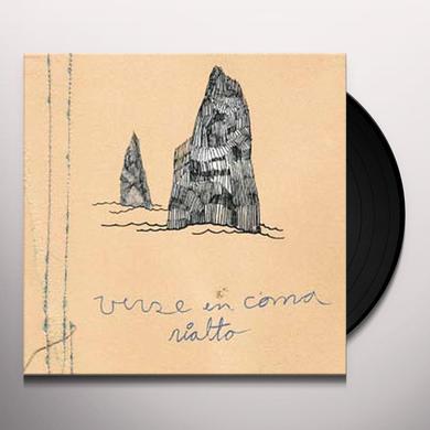 Verse En Coma RIALTO Vinyl Record - w/CD