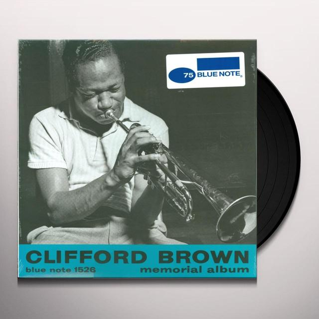 Clifford Brown MEMORIAL ALBUM Vinyl Record - Japan Import