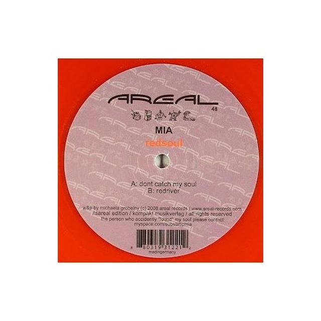 M.I.A REDSOUL Vinyl Record
