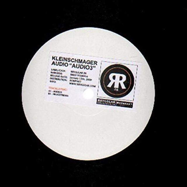 Kleinschmager Audio AUDIO2 Vinyl Record