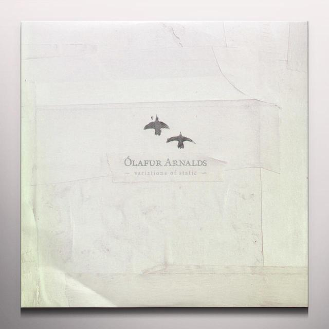 Ólafur Arnalds VARIATIONS OF STATIC Vinyl Record - 10 Inch Single, Clear Vinyl, Limited Edition, Digital Download Included