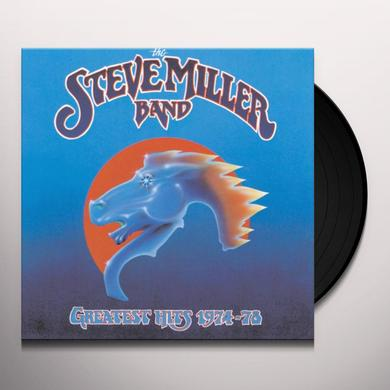 Steve Miller Band GREATEST HITS 1974-78 Vinyl Record - Limited Edition, 180 Gram Pressing