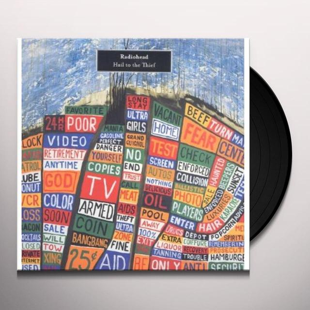 Radiohead HAIL TO THE THIEF Vinyl Record - Limited Edition, 180 Gram Pressing