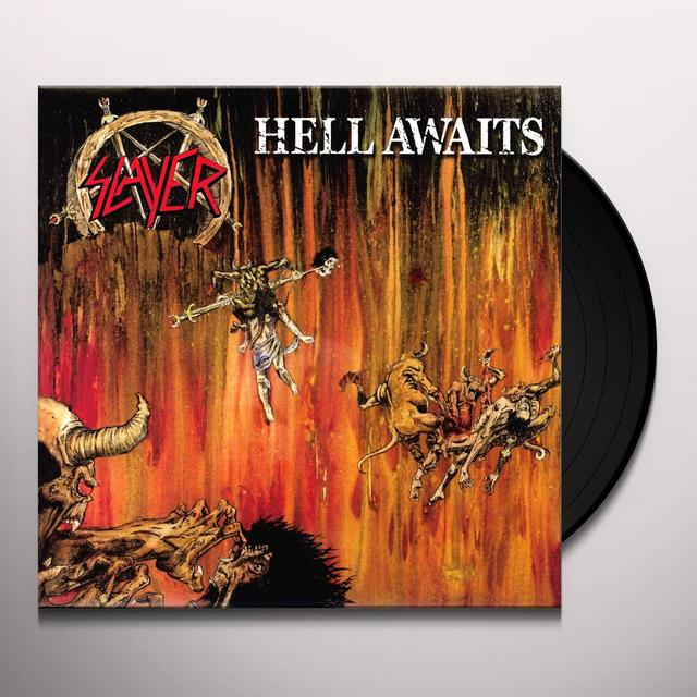 Slayer HELL AWAITS Vinyl Record