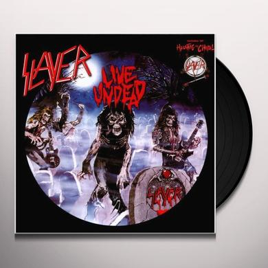Slayer LIVE UNDEAD Vinyl Record