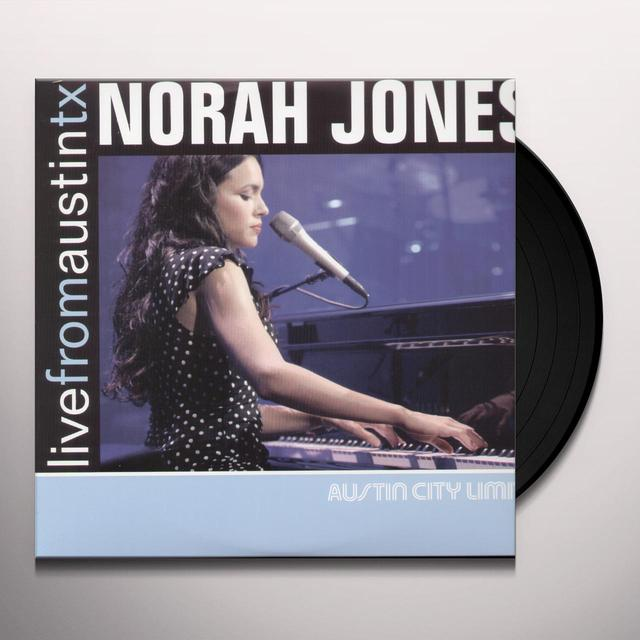 Norah Jones LIVE FROM AUSTIN TX Vinyl Record - 180 Gram Pressing