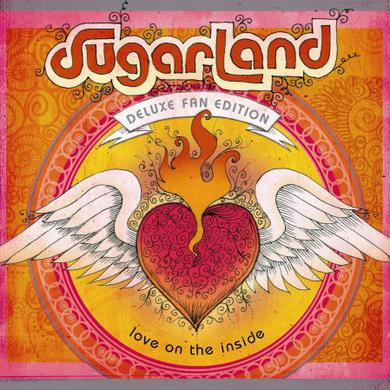 Sugarland LOVE ON THE INSIDE (BONUS TRACKS) Vinyl Record - Deluxe Edition