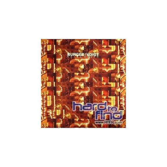 Burger / Voigt ROTER PLATZ (EP) Vinyl Record