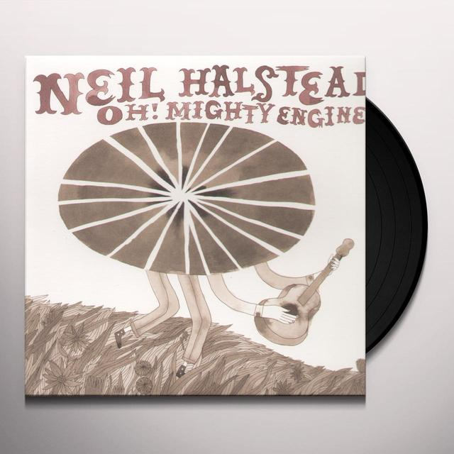 Neil Halstead OH MIGHTY ENGINE (Vinyl)