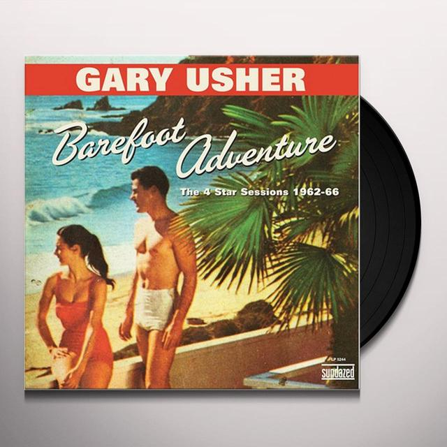 Gary Usher BAREFOOT ADVENTURE: 4 STAR SESSIONS 1962-66 Vinyl Record
