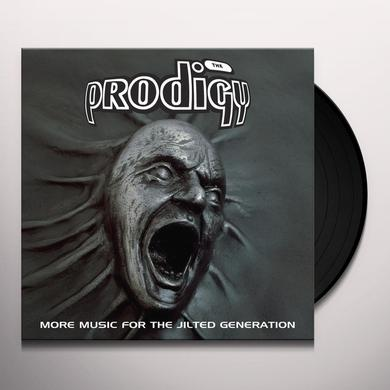 The Prodigy MORE MUSIC FOR THE JILTED GENERATION Vinyl Record