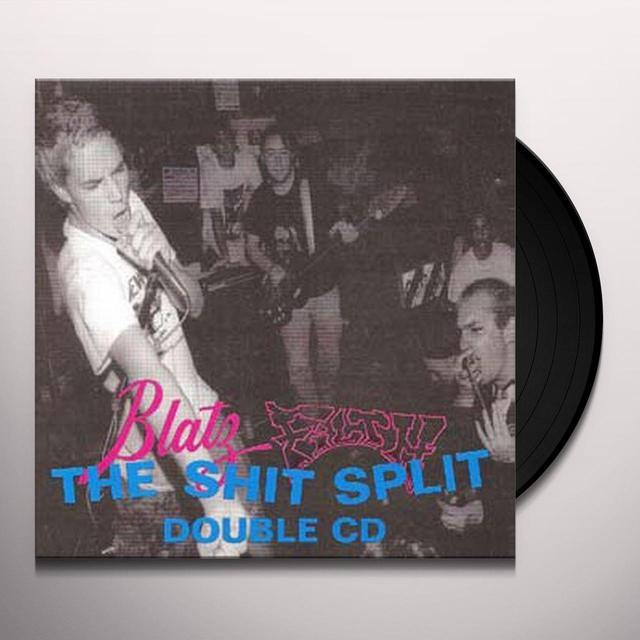 Blatz / Filth SHIT SPLIT Vinyl Record