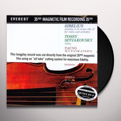 Sibelius / Tauno / London Sym Orch / Hannikainen CONCERTO IN D MINOR Vinyl Record