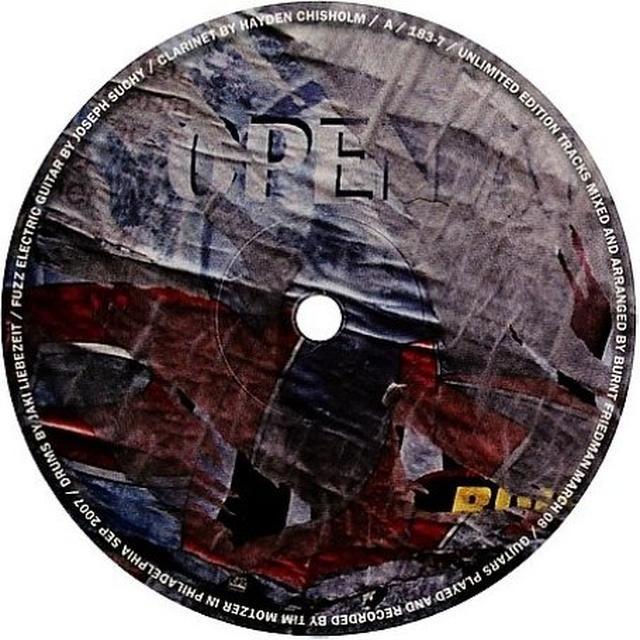 Burnt Friedman & Jaki Liebezeit UNLIMITED EDITION Vinyl Record